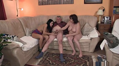 Old couple, Sons, Fuck son, Horny couple