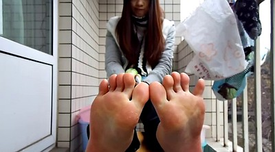 Chinese foot, Chinese teen, Asian foot, Chinese feet, Sole, Foot asian