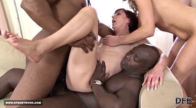 Mature anal, Swallowing, Black gay, Mature gay, Anal interracial, White black
