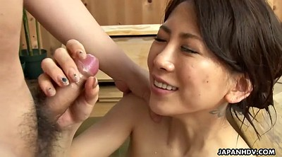 Japanese milf, Sauna, Japanese shower, Japanese facial