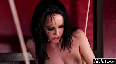 Spanked, Katie, Hairy lingerie