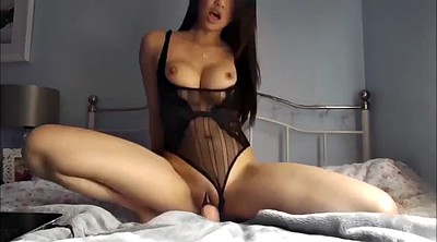Asian solo, Asian dildo riding