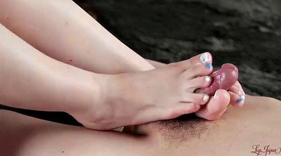Asian foot, Feet fetish