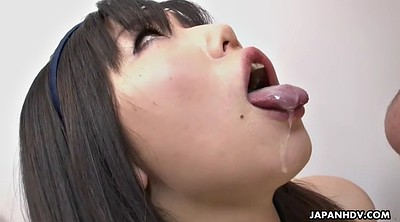 Group, Cums, Swallow cum, Japanese three