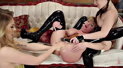 Fisting, Prolapse, Wicked, Bdsm anal, Latex anal, Prolapse lesbian