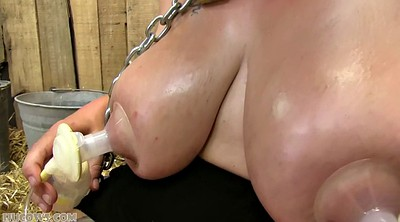 Milk, Big tits, Fat, Bbw bdsm, Cow, Big milk