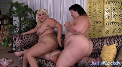 Fatty, Fuck bbw, Threesome licking