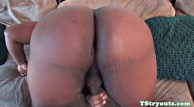 Casting, Shemale casting, Black big dick