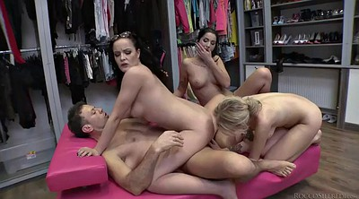 Foursome, Foursome anal, Russian three