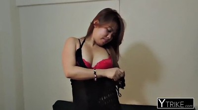 Bend over, Chubby asian