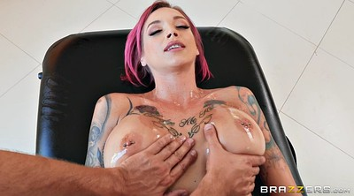Oil, Anna bell, Oil big tits
