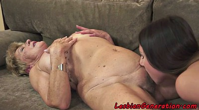 Lesbian mature, From behind, Lesbian rimming