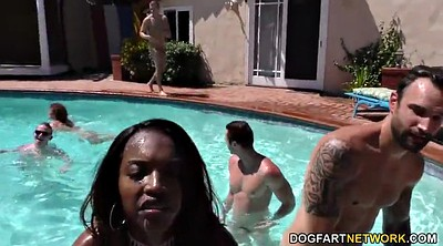 Party, Pool, Black orgy