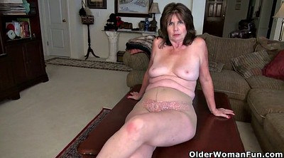 Old pussy, Nylon, Mature old