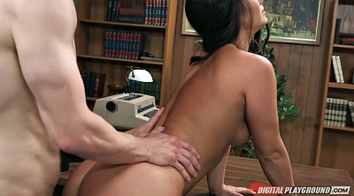 Office, Eva, Boss, Asian office, Eva k, Smile
