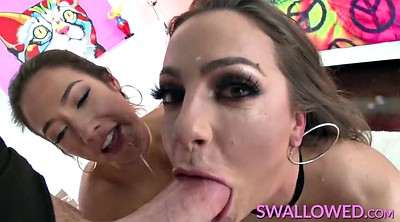 Abigaile, Abigail, Pornstar swallowing, Pornstar swallow