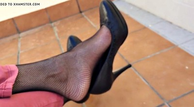 Nylon feet, Home, Shoeplay, At home, Foot nylon, Feet nylon