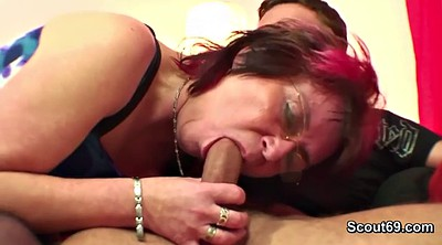 Young boy, German milf, Fuck mother, Asshole