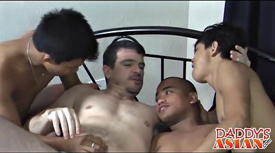Asian gay, Tricked, Asian daddy