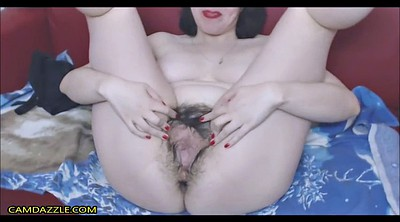 Webcam anal, Hairy pussy fucking