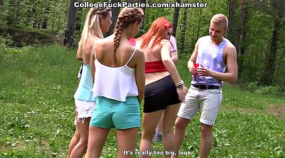 Students, Lesbian party, Orgy, Russian lesbian