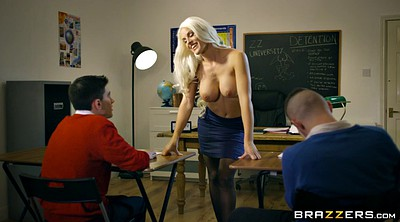 Blanche bradburry, Teacher threesome