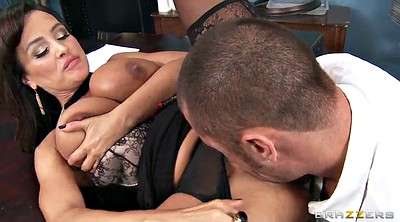 Lisa ann, Office anal