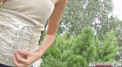 Teen anal creampie, First anal, First
