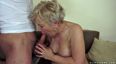 Granny, Mature blonde
