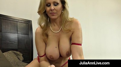 Julia ann, Julia, Foot, Hand, Mature feet, Mature foot