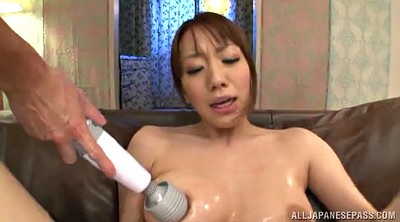 Double, Toy, Asian sex, Natural hairy, Asian toy