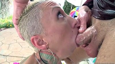 Shorts, Silicon, Oil anal, Huge cock anal