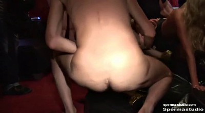 Gangbang creampie, Cum in mouth, Creampie group
