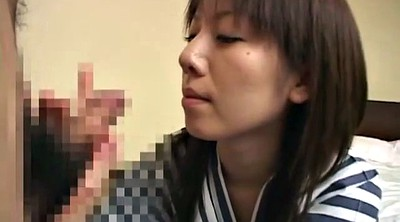 Japanese wife, Japanese wife blowjob, Subtitle, Instruction