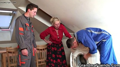 Mature woman, Old gay, Gay granny