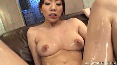 Big tits, Hairy threesome, Asian pussy