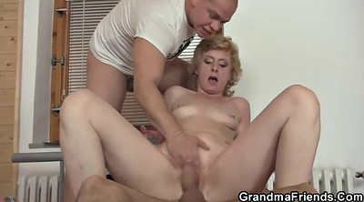 Wife sharing, Share wife, Granny threesome