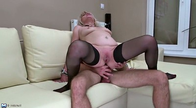 Mother son, Anal granny