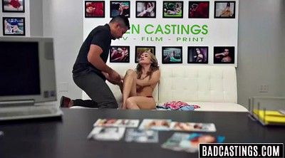 Interview, Fake casting, Bondage teen, Pussy bondage