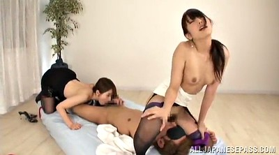 Asian handjob, Asian guy, Asian threesome