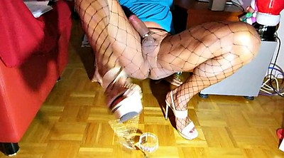 Crossdress, Shemale stockings, Shemale pantyhose, Highheel, Crossdresser pantyhose