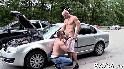 Public anal, Gay outdoors