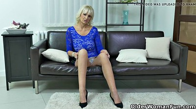 Clit, Blonde milf, Furious