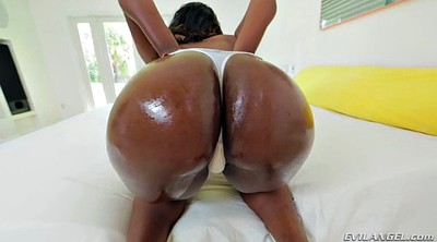 Ebony creampie, Ass job