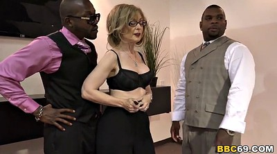 Nina hartley, Black gangbang