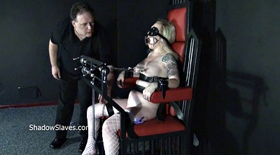 Pain, Leather, Blonde, Painful, Extreme bdsm