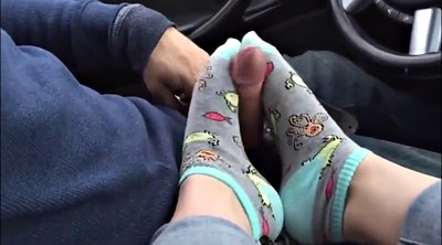 Sock, Foot job, Socks, Feet masturbation, Socking, Sock job