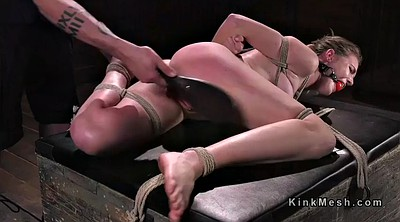 Caning, Hogtied, Spread