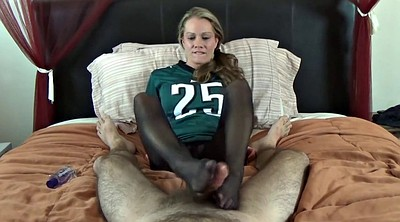 Nylon footjob, Nylon foot, Nylon feet, Nylons footjob