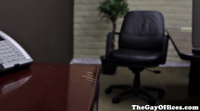 Office masturbation, Muscle gay